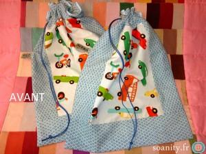 sac à pyjama AVANT