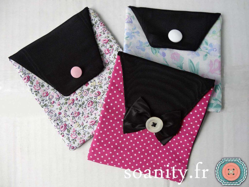 pochettes girly