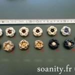 Nouveauté dans le vide-cousette : boutons anciens BONFIL