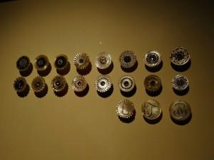 boutons nacre