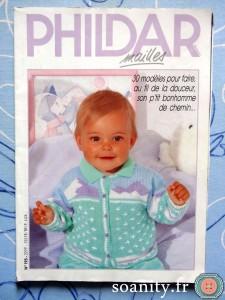 magazines Phildar mailles