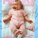 Nouveauté dans le vide-cousette : magazines Phildar Layette