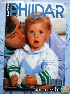 magazines Phildar Layette