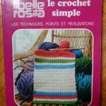 Nouveauté dans le vide-cousette : livre Le crochet simple