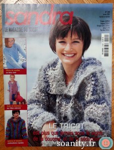 magazine tricot Sandra