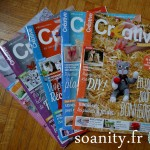 Nouveauté dans le vide-cousette : magazines Créative