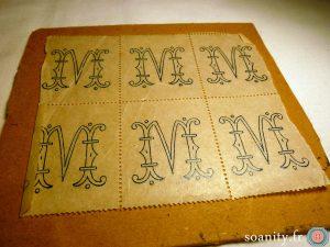 monogramme M