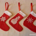 Les chaussettes du père Noël !