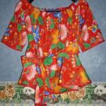 Mon premier vêtement : un haut antillais