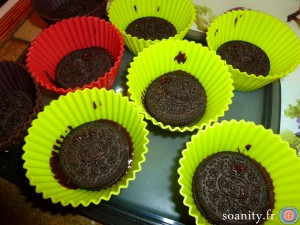 oréos au chocolat