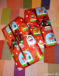 paquets de noel