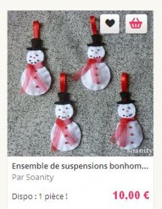 bonhommes de neige 1