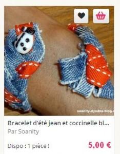 bracelet coccinelle 2