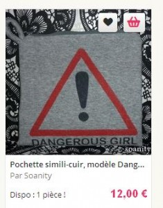 pochette dangerous girl