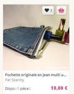 pochette jean arriere