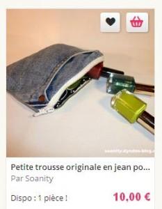 pochette jean avant