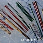 Nouveauté dans le vide-cousette : lot d'aiguilles et crochet